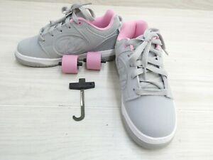 Heelys Voyager HE100715H Skate Shoe, Little Girl's Size 3M, Gray NEW