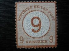 DEUTSCHES REICH Mi. #30 mint Brustschild Shield stamp! CV $120.00