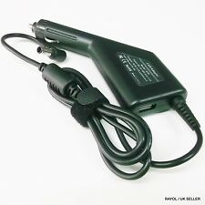 In-Car DC Charger Adapter for Various SONY VAIO Laptops, Rated 19.5V, 4.7A, 90W