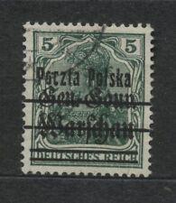 Polen 1919 Fischer Nr 7 Fehldruck B2 (Punkt zwischen O und C))