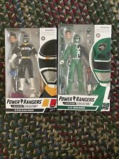 Power Rangers Lightning Collection In Space Black Ranger & SPD GREEN RANGER