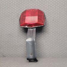 Vintage Red SATE-LITE 117/120 Bicycle Reflector w/ Black Mounting Bracket