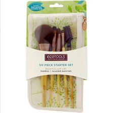 EC07 Set maquillaje EcoTools, Bamboo 5 brochas + neceser viaje Starter Set