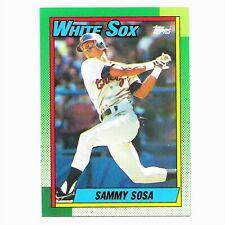 Sammy Sosa 1990 Topps Rookie Card RC #692 Chicago White Sox PSA 10?