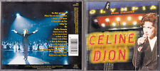 CD 13T CELINE DION A L'OLYMPIA DE 1994 BE