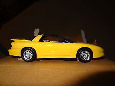AMT/ERTL 1993 93 Pontiac Firebird coupe promo model car, Sunfire Yellow. NIB