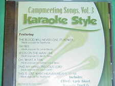 Campmeeting Songs #3 Christian Daywind Karaoke Style~Jesus on the Main Line~CD+G
