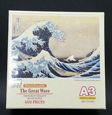 TOMAX 1000 pieces Jigsaw puzzles Hokusai Katsushika The Great Wave mini puzzle