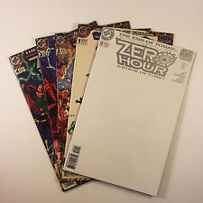 Zero Hour Crisis In Time Complete Set of 5 (#1-4, 0) VF/VFNM Jurgens, Ordway