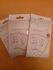 15 Wedding Milestone Cards Planner  White  silver