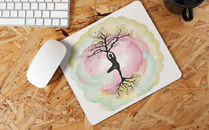 Yoga Tree Of Life Non Slip Mouse Mat / Mouse Pad