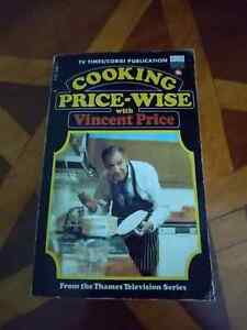 Cooking Price-wise With Vincent Price 1st edition book Hammer Horror Pricewise