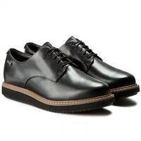 Clarks GlickDarby GTX Black Shoes UK7 EU41 D Fit JS21 75