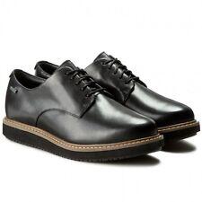 Clarks glickdarby GTX Chaussures Noires UK7 EU41 D Fit JS21 75