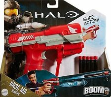 Boomco Halo Unsc M6 Blaster Red Shoot 70 Ft 8+, Boys & Girls