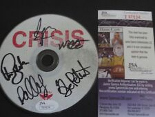 ALEXISONFIRE SIGNED CRISIS CD DISC W/PROOF JSA AUTHENTICATED COMPLETE BAND