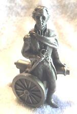Vintage Hudson Pewter P.W. Baston Miniatures George Washington Cannons 1970 (1)