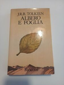 Tolkien Albero e foglia Rusconi editore  1989