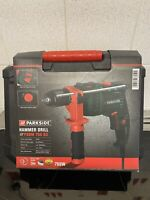 Parkside Hammer Drill + Carry Case PSBM 750W B3 For Concrete Stone Metal Wood NW