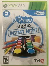 UDraw Studio Instant Artist Microsoft Xbox 360 Complete With Manual
