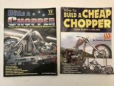 New Listing2 How To Build A Chopper Books Tomothy Remus