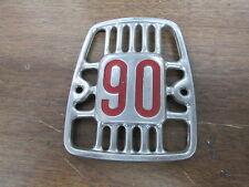NOS Honda OEM Horn Cover Front Fork Badge Emblem 1966 CM91 61311-034-000