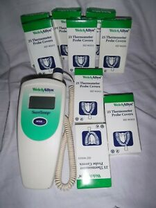 WELCH ALLYN SureTemp Digital Thermometer Probe + 225 Covers