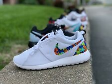 Custom Nike Roshe Run Shoe New Autism Awareness Puzzle Pieces Colorf Exclusive