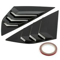 Fit For Ford Focus ST RS Hatchback bright black Window Side Louvers Vent 20 R6M7