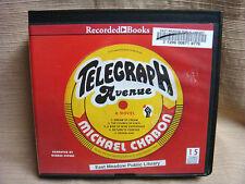 TELEGRAPH AVENUE by Michael Chabon 15 CD Unabridged Audiobook 2012