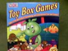 Toddlers Toybox Toy Box Games Pc Cd-Rom (English/Spanish) Ages 2-4