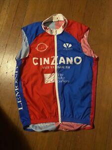 Voler Cycling Vest Mens Small Cinzano Lemond BTA Smith Red/Blue