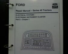 Ford 5640 6640 7740 7840 8240 8340 tractor ELECTRICAL SYSTEM Workshop manual