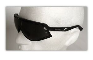 Rudy Project DEFENDER Sunglasses ALL BLACK Frame SMOKE Black Lens Ref:600