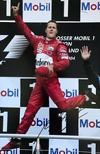 Michael Schumacher Hand Signed Scuderia Ferrari Marlboro 18x12 Photo F1.
