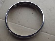 """LUCAS REPRODUCTION HEADLIGHT RIM 7"""" DIAM , MAY FIT AJS MATCHLESS NORTON 12"""