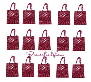 Ulta Beauty PINK Reusable Shopping / Grocery Tote Bag lot of 15, BN