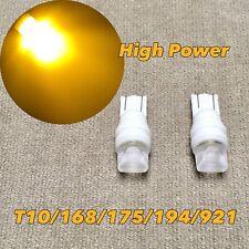 Parking Light T10 SMD LED Wedge 194 2825 168 12961 W5W 175 AMBER W1 JAE