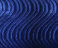 """58/"""" Wide Velvet Ultra Flocking Solid Upholstery Fabric 05 NAVY BLUE Sold BTY"""