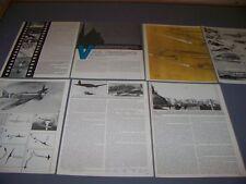 VINTAGE..V-1 BUZZ BOMB..STORY/PHOTOS/HISTORY...RARE! (68D)
