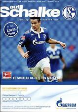 BL 2010/11 FC Schalke 04 - FSV Mainz 05, 07.05.2011 + Poster Erwin