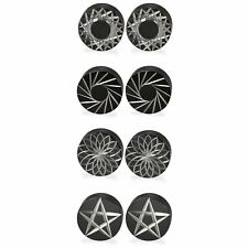 4Pairs Non Piercing Clip on Magnetic Magnet Ear Stud Mens Womens Fake Earrings