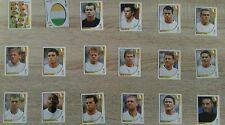 Panini WM 2002, 16 verschiedene Sticker Irland, fast komplett, Topp-Zustand !!