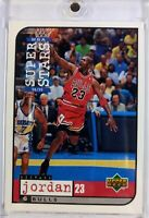 1998-99 Upper Deck Mattel Super Stars Michael Jordan #23, Chicago Bulls