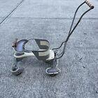 Vintage Taylor Tot Metal Baby Stroller Walker - Hooded Wheels