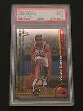 New listing 1998 Vince Carter Topps Finest W/Coating #230 PSA 9