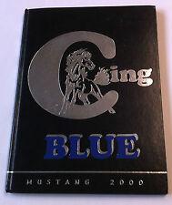 2000 Crane Union High School Yearbook - MUSTANG - Oregon - GREAT