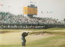 Signed Darren Clarke Golf Photograph- The Winning Shot