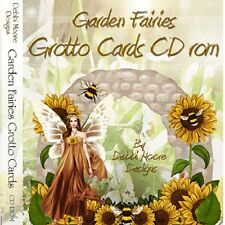 Debbi Moore Designs Garden Fairies Grotto Cards CD Rom (291707) Cardmaking