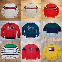 NWT Men's Tommy Hilfiger Crew Neck Pullover Sweater Listing 2 XS S M L XL XXL